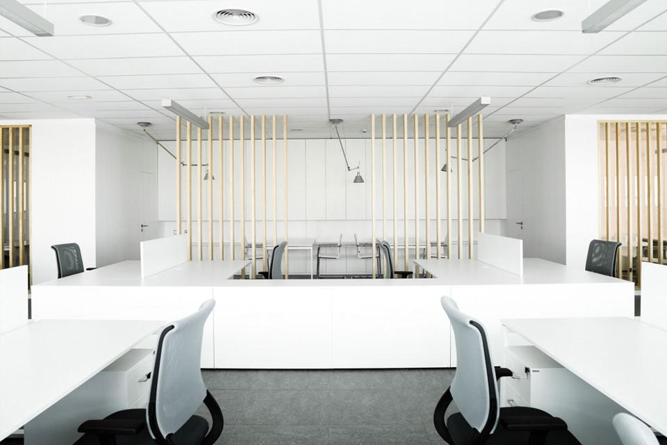 Oficinas para empresa europastry balet rosello arquitectes for Oficinas ss madrid